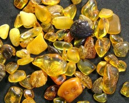 NATURAL POLAND AMBER 50 CTS FN 2762 (LO-GR)
