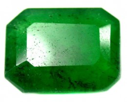 Quartz Emerald Green colour   10.70  carats   QU83