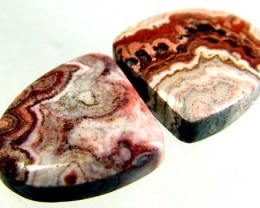 ROCETA STONES PAIR FROM MEXICO  11 CTS [MX277 ]