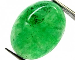 Quartz Emerald Green colour  8.10   carats   QU93