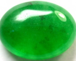 Quartz Emerald Green colour  11.80   carats   QU104