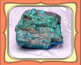 ROUGH CHRYSOCOLLA - 272.5 carats Old Mine Peru Chrysocolla