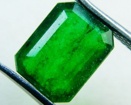 Quartz Emerald Green colour  2.80   carats   QU138