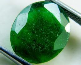 Quartz Emerald Green colour   4.10  carats   QU154