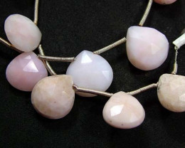 PINK OPAL BEADS NATURAL 54.60 CTS NP-1224