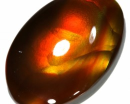 GEM GRADE FIRE AGATE-POLISHED 3.96 CTS [S3129 ]