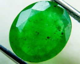 Quartz Emerald Green colour  4.30   carats   QU168
