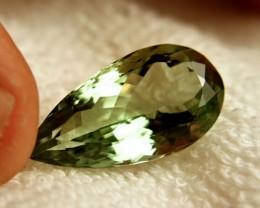 24.28 Carat VVS Prasiolite / Green Amethyst - Gorgeous
