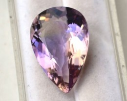 11.83 Carat Pear Cut Blended Ametrine