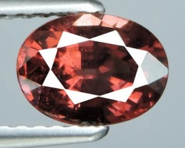 1.35 CTS WONDERFUL RARE OVAL SHAPE NATURAL RED TOURMALINE MOZAMBIQ