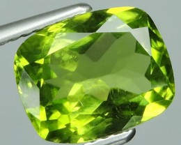 3.30 Cts.Magnificient Top Sparkling Intense Green Peridot GEM