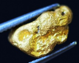 0.65 Grams  AUSTRALIAN  Gold  Nugget LGN 1325