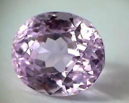 14.33ct Flat-out Gorgeous ! Plae Purple Pink Kunzite VVS - NA36