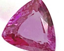 1.35ct Pinkish- Purple Rhodolite Garnet, VVS NA38