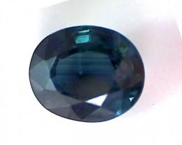 .80 Parti Sapphire Blue Green Hue Australia VVS TH146