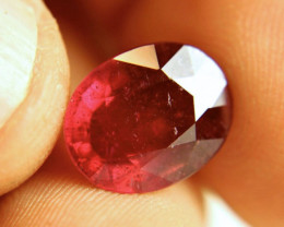 8.42 Carat Fiery Red Ruby - Gorgeous