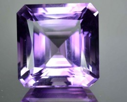 Beautiful Square 25.45 Cts Natural Purple Amethyst Bolivian Gem