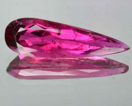 3.13 Cts Natural Sweet Pink Rubelite Tourmaline Pear Faceted Gem