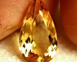 11.2 Golden Yellow VVS1 Beryl - Superb