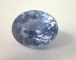1.05ct Glowing Soft velvety blue Ceylon Sapphire SL05