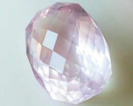 30.50ct Outstanding Special Cut Rose Quartz Jewel - Incredibly Beautiful