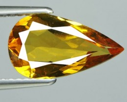 2.15 CTS.REMARKABLE! PEAR FACET GOLDEN BERYL NATURAL NR!