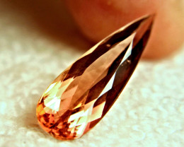 CERTIFIED - 6.66 Carat Whiskey Colored VS Tourmaline - Gorgeous