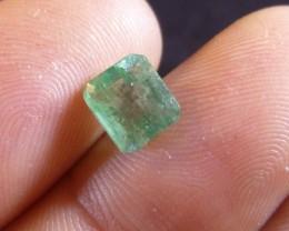 1.57cts Zambian Emerald , 100% Natural Gemstone