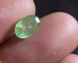 1.34cts Colombian Emerald , 100% Natural Gemstone