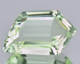 6.66 Cts Natural green Beryl Fancy Cut Brazil Gem