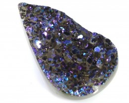 DRUSY CARVED NATURAL 16.10 CTS LG-1364