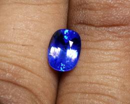 CERTIFIED 2.20 CTS NATURAL BEAUTIFUL STUNNING BLUE SAPPHIRE CEYLON SRI LANK