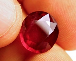 7.67 Carat Vibrant Pigeon Blood Ruby - Superb