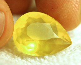 13.48 Carat Vibrant Yellow Mexican Fire Opal - Gorgeous