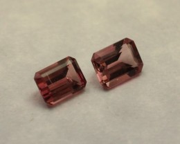 PINK TOURMALINE EMERALD CUT