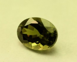 TOURMALINE GREEN OVAL SHAPED