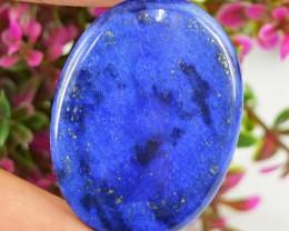 Genuine 30.00 Cts Blue Lapis Lazuli Oval Shaped Cab