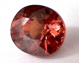 2.1ct Sparkling Red-Orange Spessartine Garnet VVS THC16