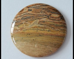 79Ct Natural Spot Jasper Gemstone Cabochon