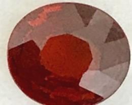 CERTIFIED 1.98ct Stunning Reddish-Orange Spessarite Garnet VVS A258