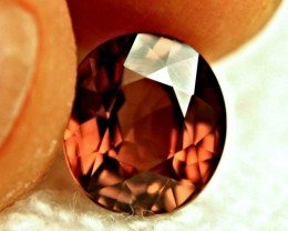6.04 Carat VVS1 Whiskey Colored Zircon - Superb