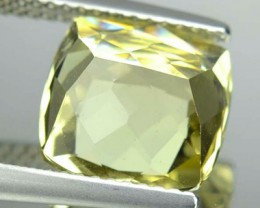 4.38 Cts Natural Golden Yellow Beryl Cushion Cut Brazil Gem NR
