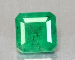 1.06 Cts Natural Green Emerald Octagon Cut Brazil Gem