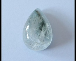 29 Ct Natural Lodolite Quartz Gemstone Cabochon