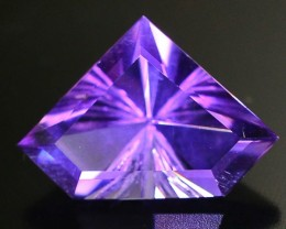 3.80 ct Natural Laser Cut Amethyst~Afghanistan