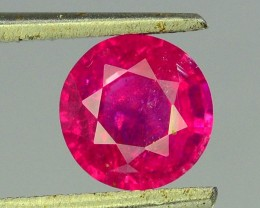 1.05 ct 100% Natural Ruby ~ Jagdalek Afghanistan
