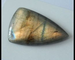 52.5 ct Natural Labradorite Gemstone Cabochon