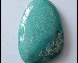 43.5Ct Natural Turquoise Gemstone Cabochon,Jewelry Design
