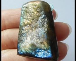 103.5ct Nugget Labradorite Gemstone Pendant Bead