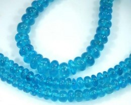 120 CTS NATURAL STRANDS APATITE POLISHED BEADS TBG-2205